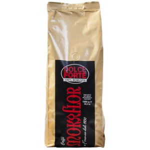 Mokaflor Dolce Forte coffee with 100% Robusta beans